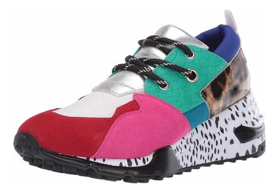 Tennis Steve Madden Dama Cliff. Moda Zapatos. Importado.
