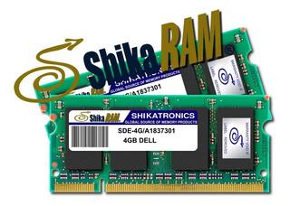 Memoria Ram 4gb Ddr2 Shikatronics Para Portatiles Dell Hwo