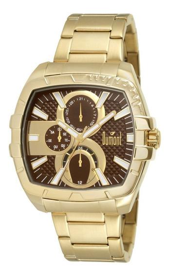 Relógio Dumont Masculino Du6p27ag/4m