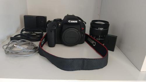 Canon Eos T7i Seminova | Corpo, Lente, Sd 32gb | Poucos Cliq