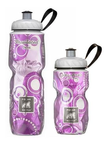 Kit 2 Caramanholas Polar Bottle: Andromeda 355ml E 710ml