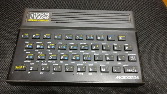 Microdigital Tk85 Funcionando Com Fonte/gravador/manual