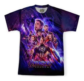 Camiseta Masculina Vingadores 4 Avengers Endgame Md06
