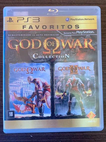 Jogo Usado God Of War Collection - Ps3 (mídia Física)