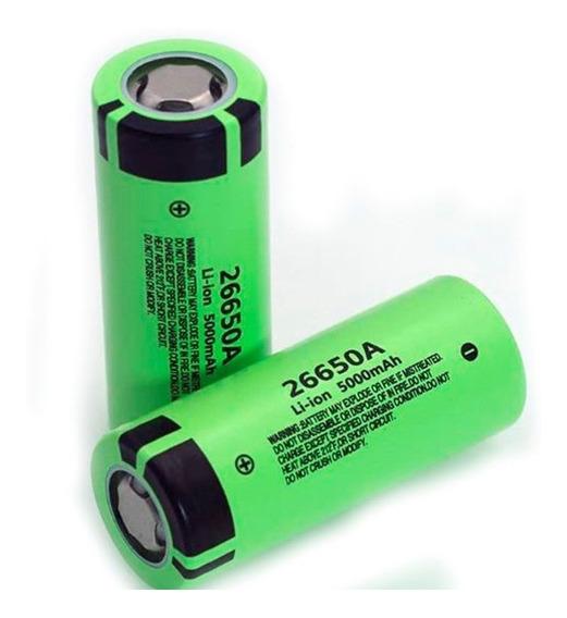 Bateria Original 26650b 3.7v 5,000mah Panasonic Recarregavel