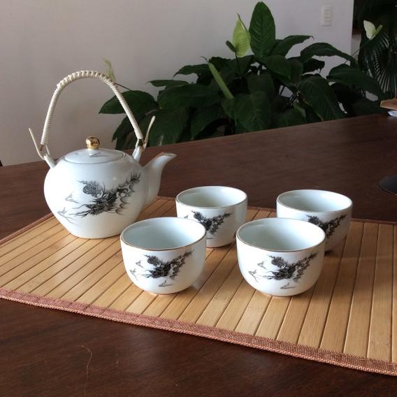 Jogo De Ban Chá Dragão 5 Peças