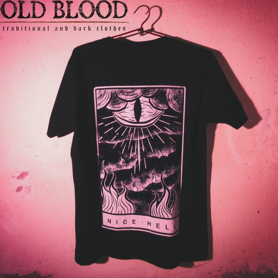 Remera Old Blood Modelo Nice Hell