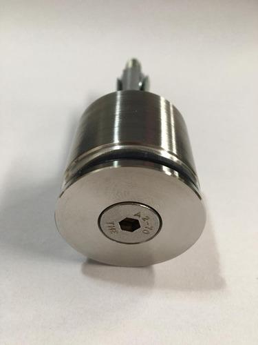 Imagem 1 de 3 de Prolongador Aço Inox 304 Maciço Guarda Corpo (botton) 10 Pçs