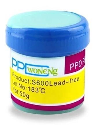 Pasta De Solda Bga Reballing Ppd S600 Lead Free 183 ºc 50g