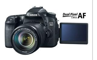 Camara Fotografica Canon Eos 70d