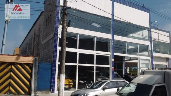 Galpão/pavilhão Para Alugar No Bairro Vila Gulhermina Em - 497-2