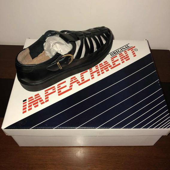 Sapato Aranha Preto - Impeachment (original)