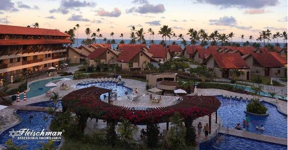 Locação Por Temporada, No Oka Beach Residence Flat Com 2 Dormitórios, Por R$ 1.150,00 - Diária - Praia De Muro Alto - Porto De Galinhas/pe - Fl0119