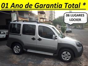 Fiat Doblò 1.8 Flex Adventure Xingu Locker 06 Lugares