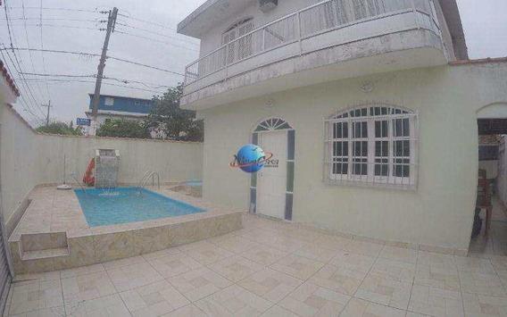 Sobrado Com 4 Dorms, Aviação, Praia Grande - R$ 450 Mil, Cod: 4207 - V4207