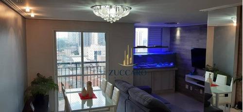 Lindo Apartamento Vista Livre Com 2 Dormitórios À Venda, 64 M² Por R$ 409.000 - Gopoúva - Guarulhos/sp - Ap16854