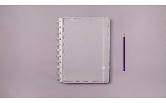 Caderno Inteligente Lilas Pastel 80fl Grande 1 Un