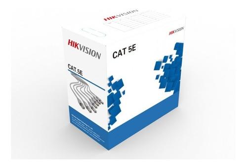 Cable Utp Cat 5e De Red  Cobre Internet Interior Rollo 305