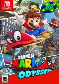 Super Mario Odyssey Nintendo Switch - Primária