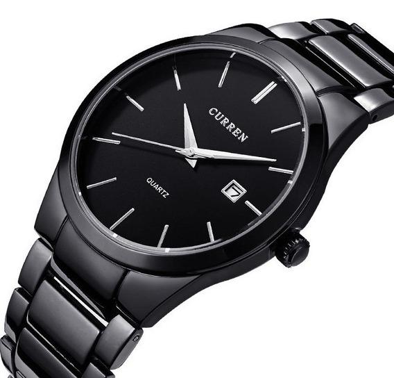 Curren 8106 Relógio Masculino Aço Inoxidável