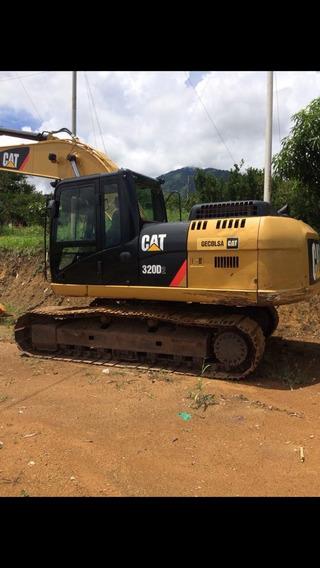 Retroexcavadora Cat 320d2