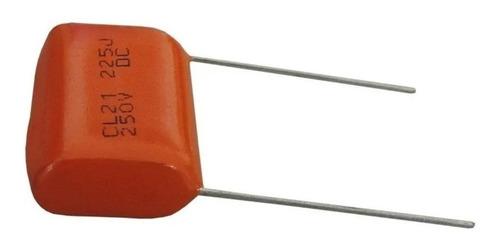 Kit 10 Capacitores Para Super Tweeter Profissional (2,2x250)