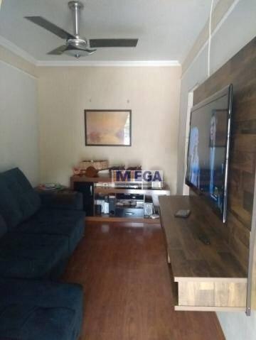 Casa Com 3 Dormitórios À Venda, 160 M² Por R$ 390.000 - Jardim Santa Eudóxia - Campinas/sp - Ca2342