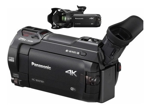 Panasonic Hc Wxf991k 4k Ultra Hd Filmadora Com Twin Camera