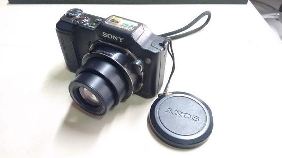 Câmera Digital Sony Cyber-shot Dsc-h20, C/ Carreg. E Bateria