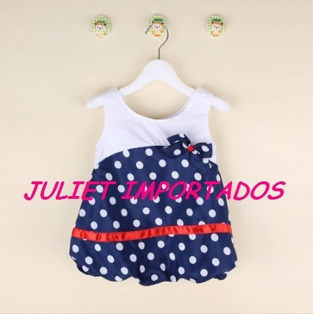 Cod 066 - Vestido Infantil Menina Importado 2 - 3 Anos
