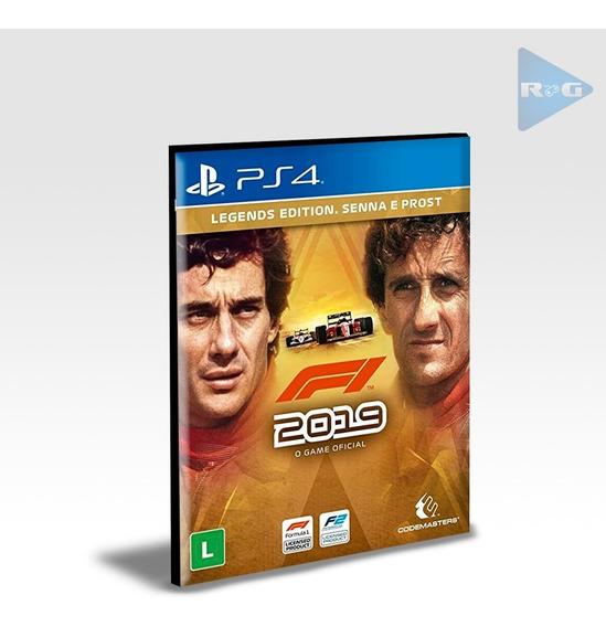 F1 2019 Legends Edition - Ps4 2 - Envio Agora