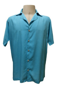 Camisa Masculina Hawaiana 0231 (verifique Medidas)