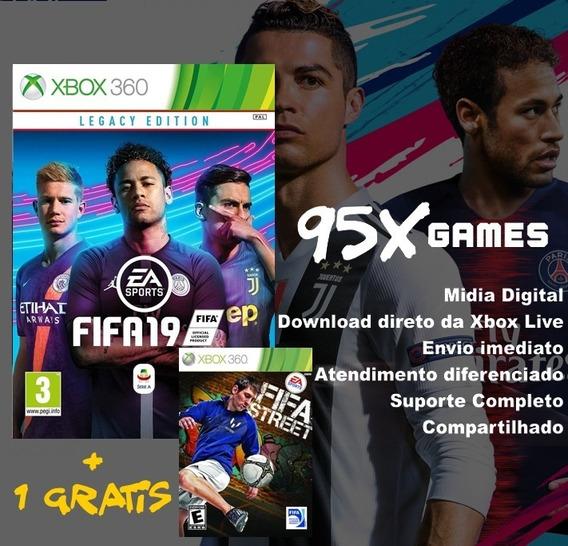 Midia Digital Xbox 360 - Fifa 19 Legacy Edition