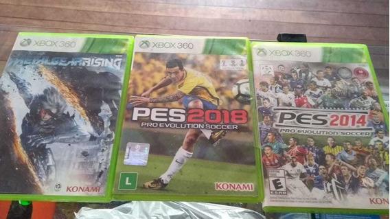 Pes 18 Xbox 360 E Mais 3 Jogos Para Xbox 360
