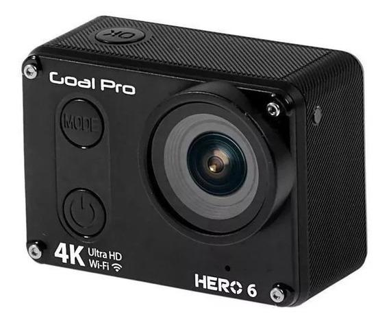 Câmera Goal Pro Hero 6 Sport 4k/ Wi-fi/ Microsd/ 16mp/ Prova