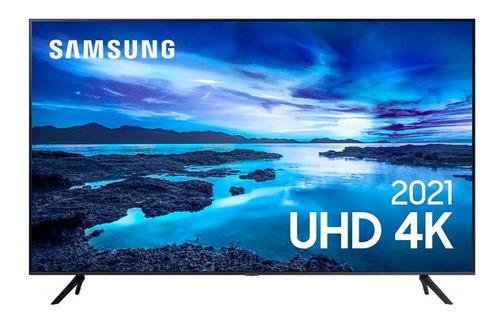 Imagem 1 de 5 de Smart Tv Samsung 50 Polegadas 4k Hdr Crystal
