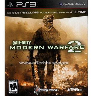 Call Of Duty Modern Warfare 2 Ps3 Fisico - Usado