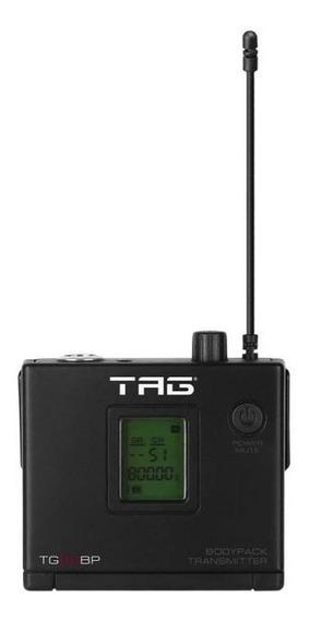 Transmissor Bodypack Para Microfone Sem Fio Tagsound Tg-88bp