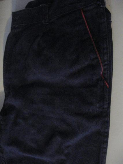 Pantalon Jeans Azul Para Trabajar Usado Talle 48