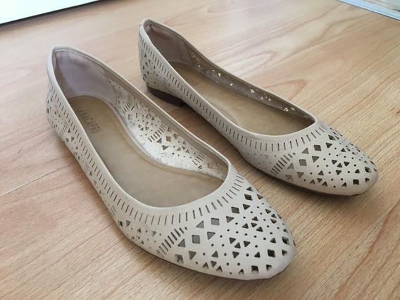 Zapatos - Ballerinas Cuero Ecológico N° 35