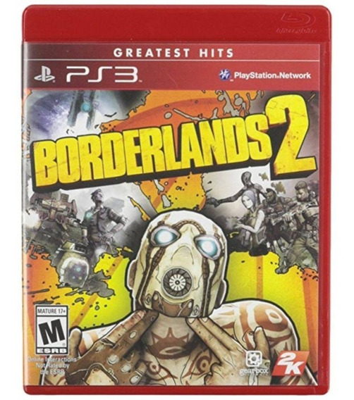 Borderlands 2 Ps3 Jogo Original Lacrado Mídia Física