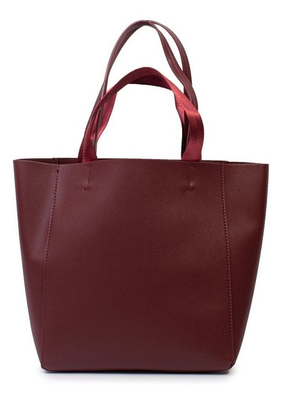 Cartera Shopper Bordeaux Isadora
