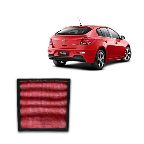 Filtro De Ar Esportivo Inbox Rs Gm Chevrolet Cruze + Brindes