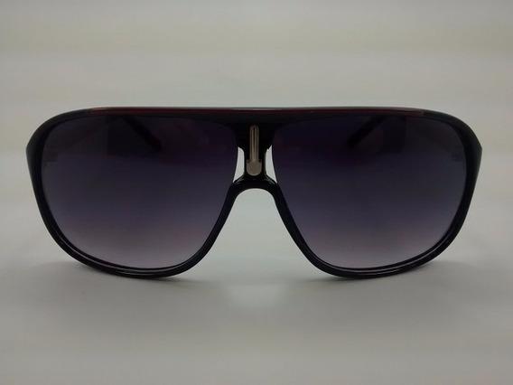 Óculos De Sol Otto - Preto / Dourado / Vermelho - France