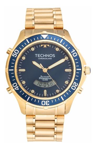Relógio Technos Masculino Performance Skydiver T205iz/4a