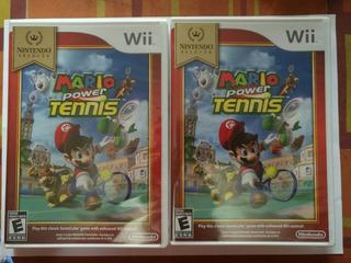 Mario Tennis Wii Nuevo Sellado