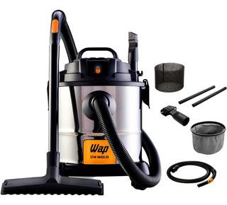 Aspirador De Pó E Água 1400w Wap Gtw12 Fw005041 Inox 110v
