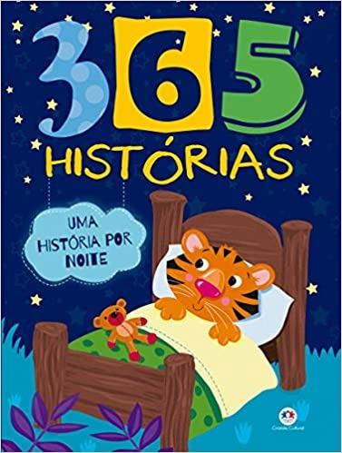 Livro 365 Histórias Uma Por Noite Editora Ciranda Cu