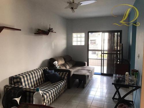 Imagem 1 de 19 de Apartamento De 87m², Mobiliado, Pronto Para Morar.  À 01 Quadra Do Mar. - Ap3315