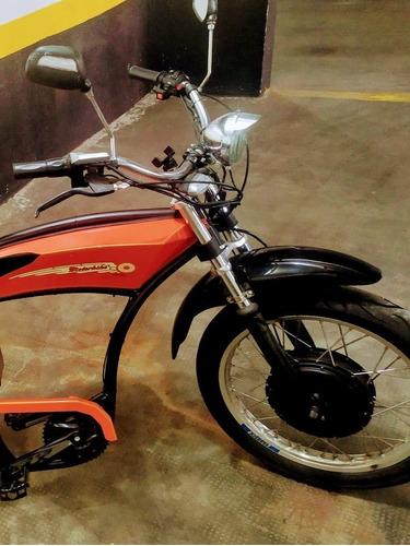 Motorbike Retro Clássico Ws Cruiaser